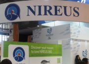 Nireus at Seafood Expo Europe 2014. Photo: Miriam Okarimia/ Undercurrent News