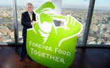 Peter Hajipieris  launches Forever Food Together Oct 2014. Photo: Iglo