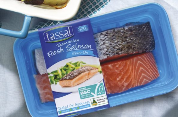 Tassal flies fresh salmon direct to Xi'an