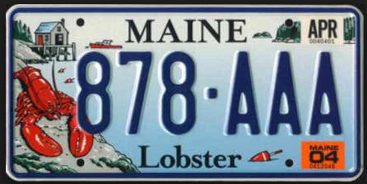 Maine license plates to fund lobster research for Maine fishing laws 2017