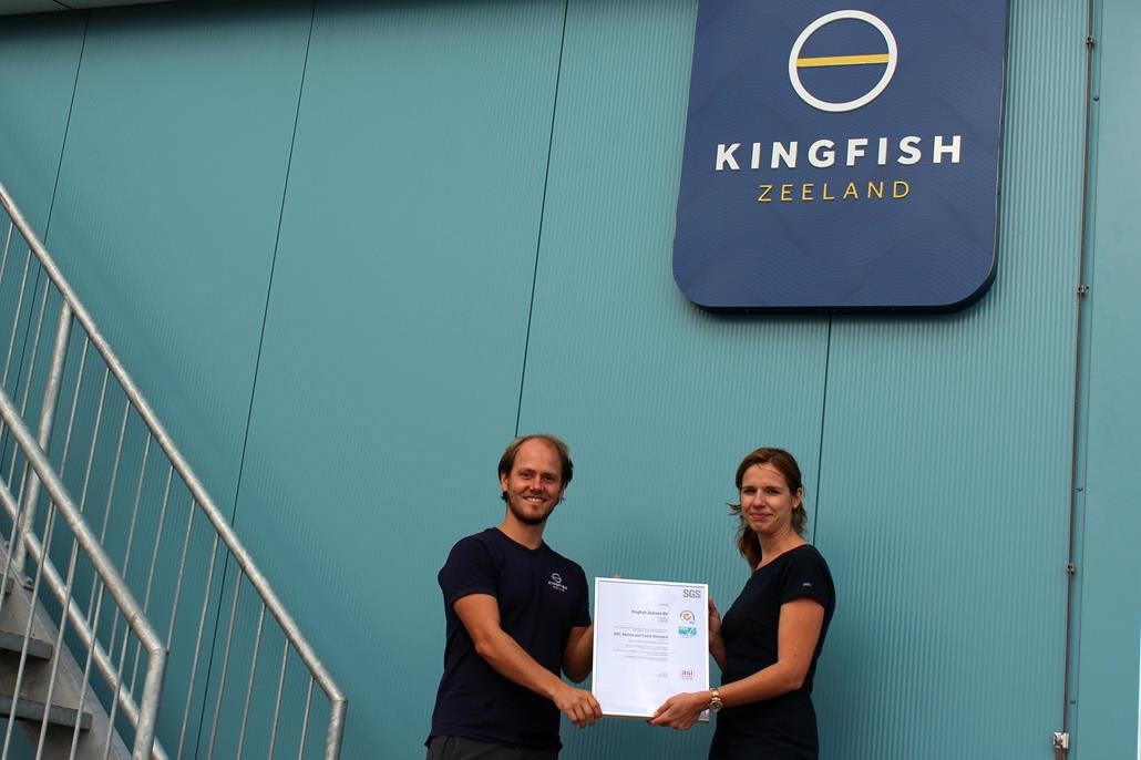 Kingfish Zeeland Dutch Yellowtail Farm Gets Asc Certification
